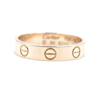 Rose Gold 18k Band 3.5mm Wide Size 50 5.5 Ring